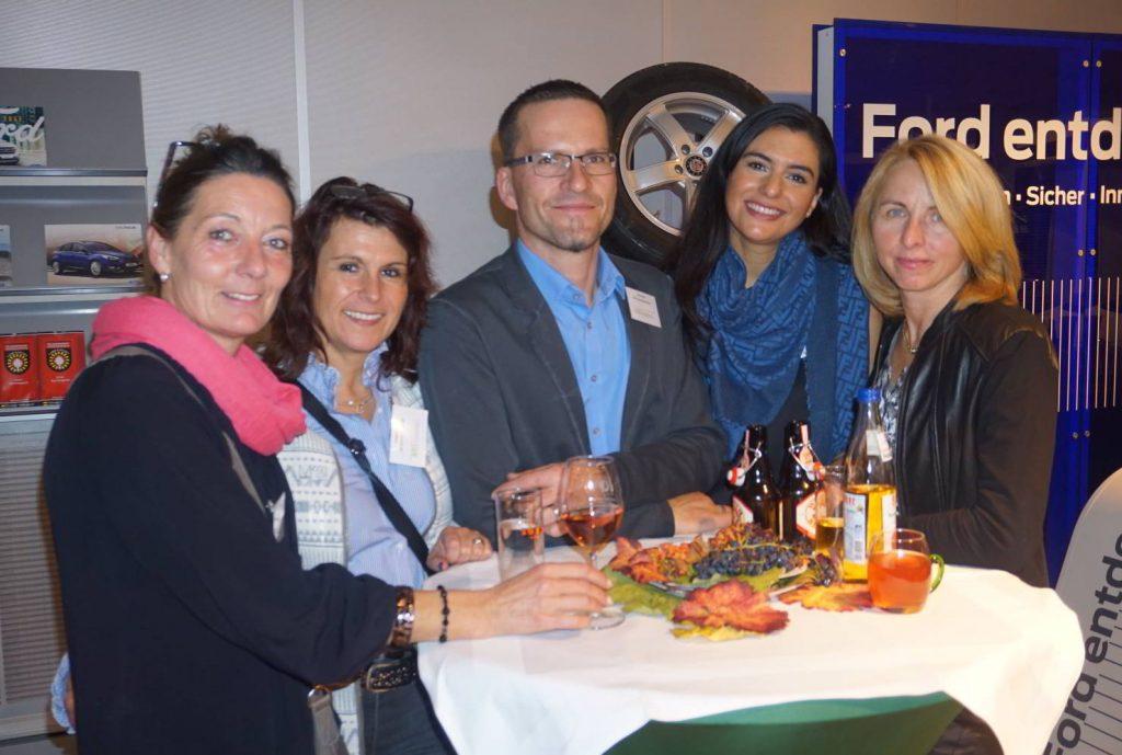 Aspacher Unternehmer trifft Unternehmer im Autohaus Möhle
