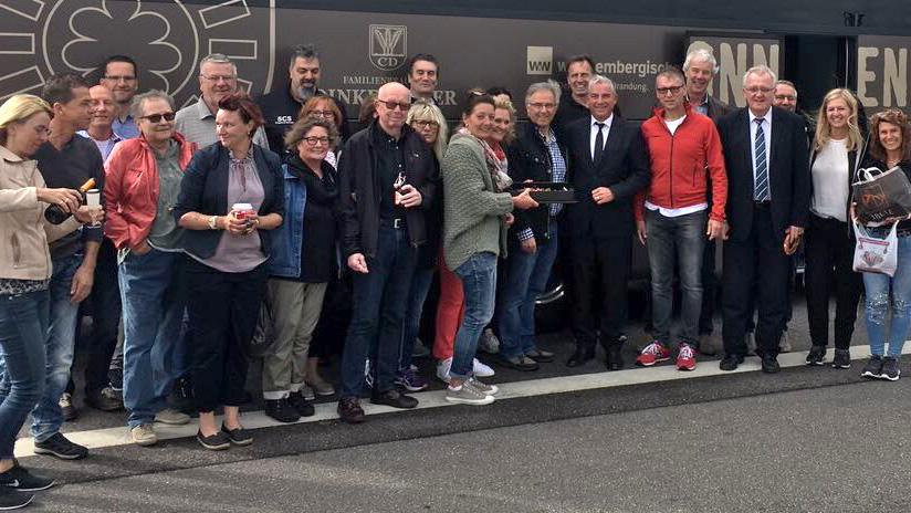 Teilnehmer BDS Ausflug Freiburg 2017